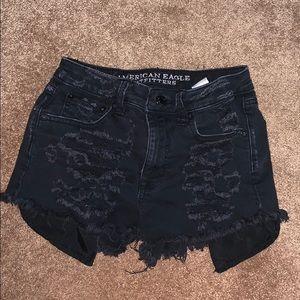 American Eagle vintage high rise festival shorts